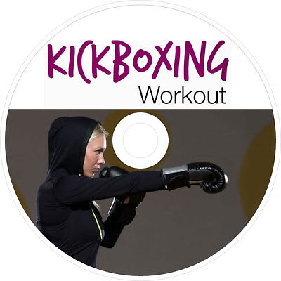Kickboxing Bootcamp Training Exercise Program Dvd Learn Workout Weight Fat Loss