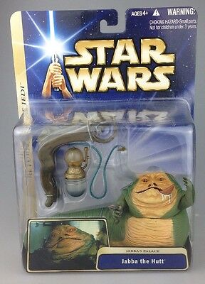 Star Wars Saga - Jabba The Hutt / Jabbas Palace - Figure Set Scarce