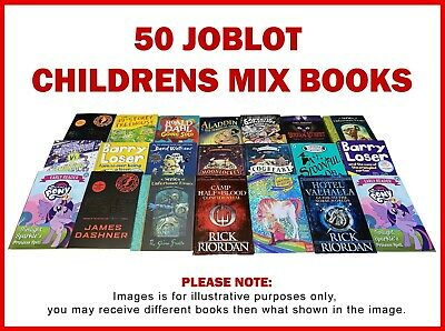 Joblot Wholesale of 50 New Children's Books Collection Set Reading Educational