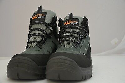 10 Pairs Work Safety Boots Good Quality Sizes 4 -12  All Bnib