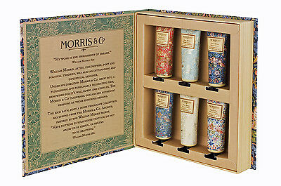 Morris & Co. Strawberry Thief Hand Cream Library - 6 x 30 ml Hand Creams
