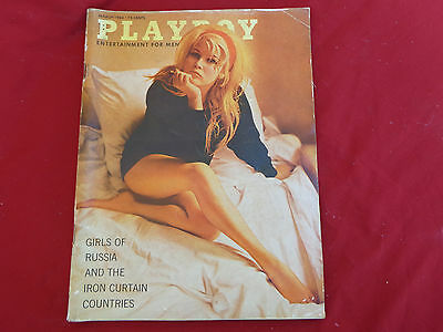 PLAYBOY US march  1964  old with  some tears etc
