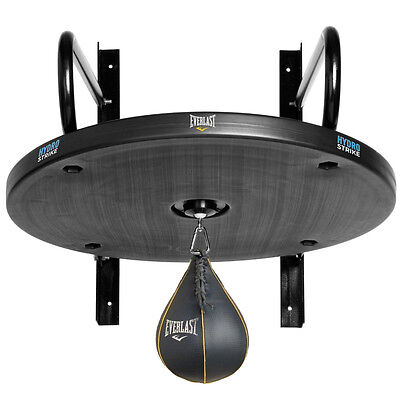 Everlast Hydrostrike Speed Ball Platform Stand & Everhide Boxing Speed Punch Bag