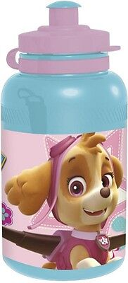 Paw Patrol Girls Sports Water Juice Bottle With Push Down Top