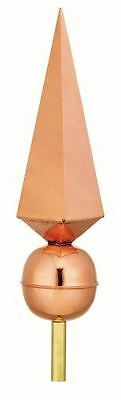 Good Directions Lancelot Polished Copper Finial