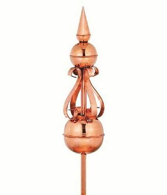 Good Directions Merlin Polished Copper Finial