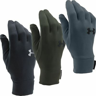 Under Armour 2016 ColdGear® EVO Armour Liner Mens Winter/Training Gloves - PAIR