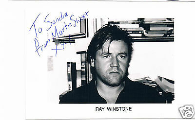 Ray Winston Hand signed  Photo Signed In character Martin Sweet Get Back