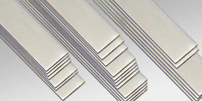 ALUMINIUM FLAT BAR 20,25,30,40mm (in many Lengths and thickness)