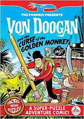Von Doogan and the Curse of the Golden Monkey (The Phoenix Presents), New, Ether