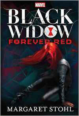 Marvel Black Widow Forever Red Novel, New, Margaret Stohl Book