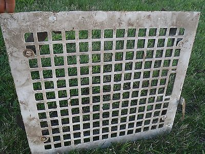 Rare Vintage Cast Iron Heating Grates Floor Vents,old Farm House Vents Large Old