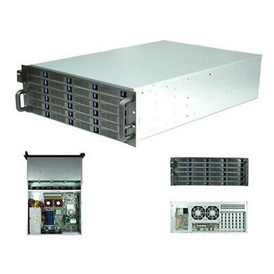 New Rack Mountable Server Chassis Case 4U 650mm Depth with 24 Bays Hot-Swap and