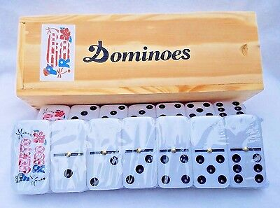 Puerto Rico Flag Double Six Dominos - Dominoes - ( Boricua Rican )