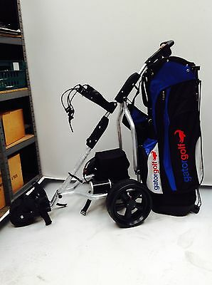 Electric Golf Trolley Including Hole Battery & Charger Cheapest on Ebay