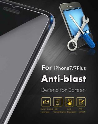 100% GENUINE Real Tempered Glass Cover for Iphone 7  Plus + Screen Protector