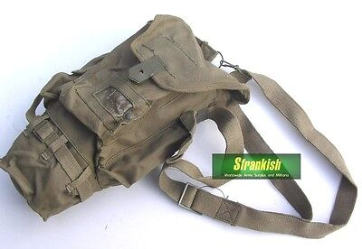 Vintage Italy Italian Army Gas Mask Bag