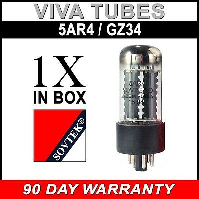 Brand New In Box Sovtek 5AR4 / GZ34 Vacuum Tube - Authorized Dealer FREE SHIP