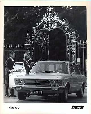 Fiat 130 Berlina / Saloon 1973 original official press photo