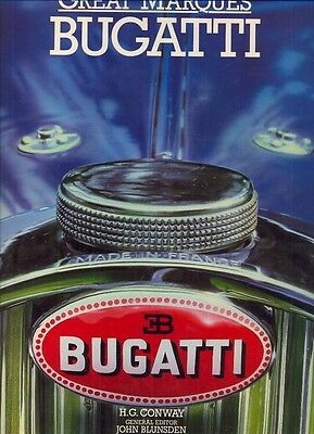 Bugatti Type 35 57 51 55 30 46 Royale ++  - GREAT MARQUES - BOOK