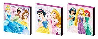 DISNEY PRINCESS set b CANVAS WALL ART PLAQUES/PICTURES