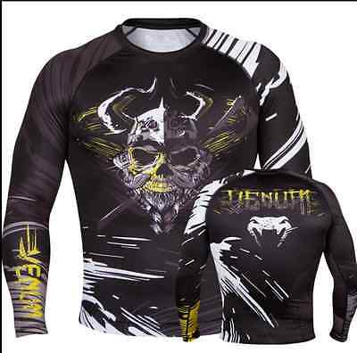 P9 Tight body-building MMA Fight Kick boxing Cage Gym fitness training shirts