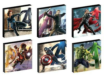 Avengers - Canvas prints - 4 sizes - Free Post