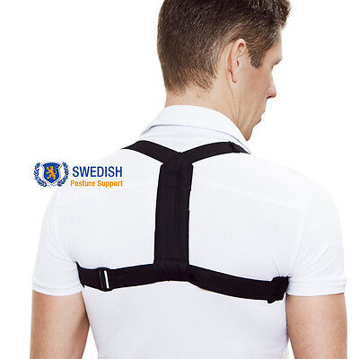 Swedish Posture Support - Unisex Adjustable Back Shoulder Corrector Brace