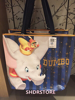 Shdr Dumbo Tote Bag Shanghai Disneyland Disney Store Resort New