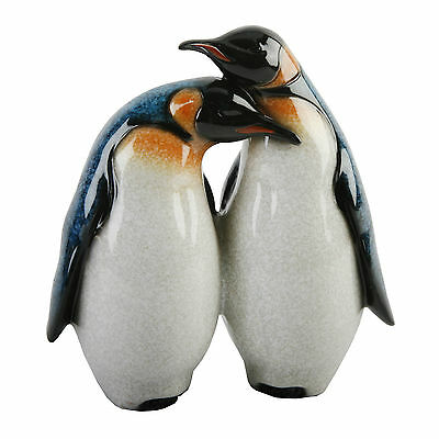 Juliana Pair of Penguin Bird Figurine / Ornament / Sculpture.New  Boxed.59494