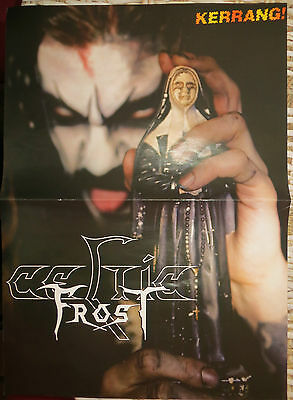 Celtic Frost / Lordi : Doble Poster (Spanish Magazine)