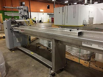 *used* Bosch Doboy Stratus Horizontal Flow Shrink Wrapping Machine - 2012 Model