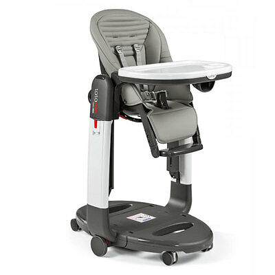 Peg Perego Tatamia High Chair in Stripes Grey Brand New!