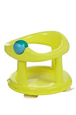 360 Degree Swivel First Safety Bath Seat Infant Ring Tub Chair Suction Pads Lime