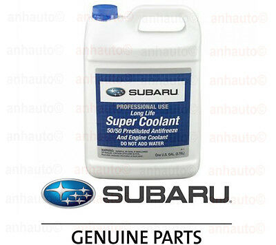 1 Gallon Genuine Suabru Anti-Freeze / Coolant  Blue SOA868V9270 Forester Legacy