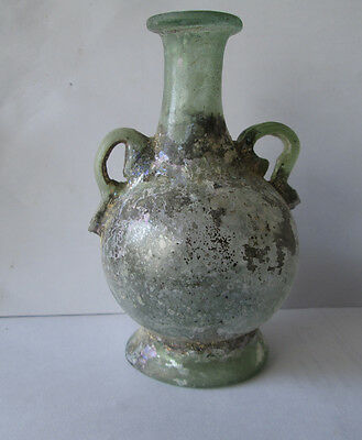Aantik Roman Glass Vase With Two Handhes • CAD $755.01