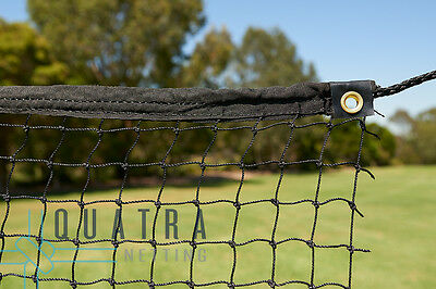 Sports Barrier Netting  3m x 5.5m with Tie Rope & Edging : Ball Stop Net