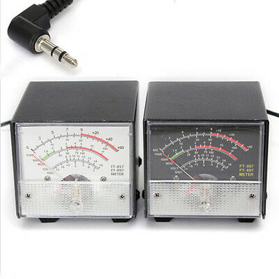 High Quality External S Meter/SWR/Power Meter for Yaesu FT-857/FT-897 Metal Case