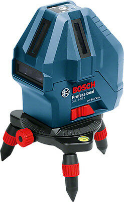 Bosch Professional Five Line Laser GLL 5-50 X with Layout Beam