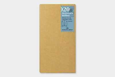 Midori Traveler's Notebook - 020. Kraft paper folder