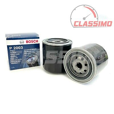 Oil Filter Pair for FORD CAPRI 1.6 2.0 & 2.8inj from 1980 to 1987 -  BOSCH