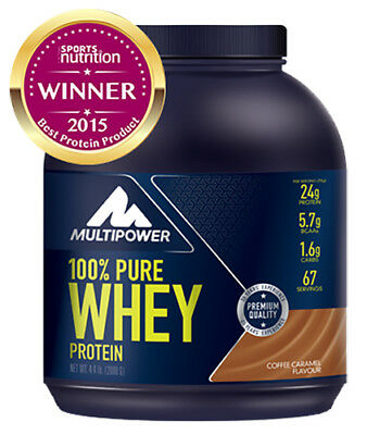 Multipower 100% Pure Whey Protein 2Kg - Proteine Concentrate Isolate Super Promo