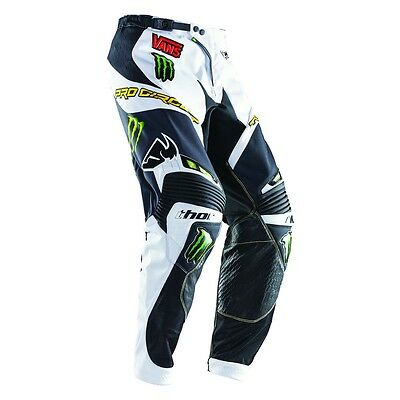 Thor S4 Core Pro Monster Energy Mx Offroad Motorcycle Atv Riding Pant Size 30