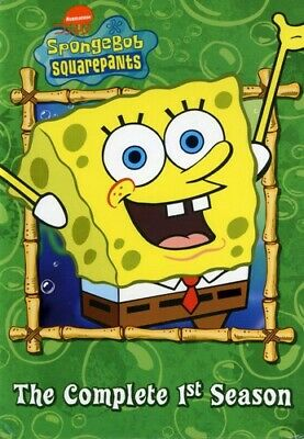 SpongeBob SquarePants: The Complete 1st Season [3 Discs] (2003, DVD NEW)