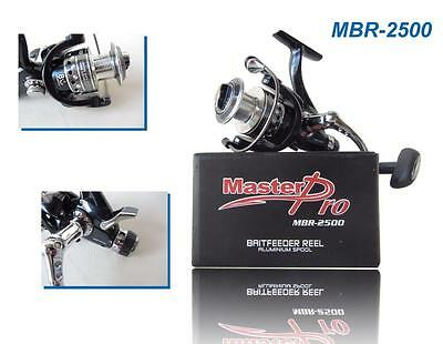 8+1 BB  MBR2500 Bait Feeder Fishing Spinning Reel With Special Bonus Offer