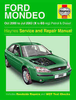 ford mondeo repair manual haynes manual workshop service manual 2000 rh picclick co uk 2005 Ford Mondeo Ford Mondeo 2009