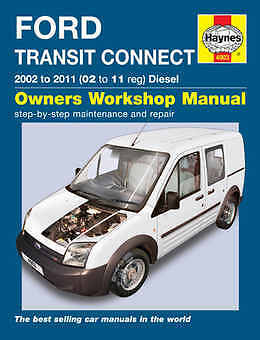 Ford Transit Connect Repair Manual Haynes Manual Workshop Service Manual  4903