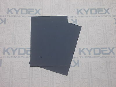 2 Pack A4 2 mm KYDEX T Sheet SHEATH HOLSTER 297 X 210 P1 Haircell BLACK 52000