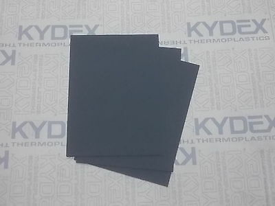 3 Pack A4 2 mm KYDEX T Sheet,Sheath Holster 297 X 210 P1 Haircell Black 52000