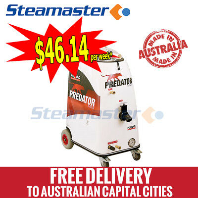 carpet cleaner extraction steam tile cleaning machines equipment Polivac MKIII